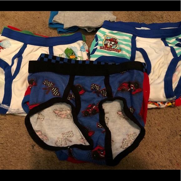 NWT Gymboree Boys Underwear 7pair//pack Briefs 4,5//6,7//8